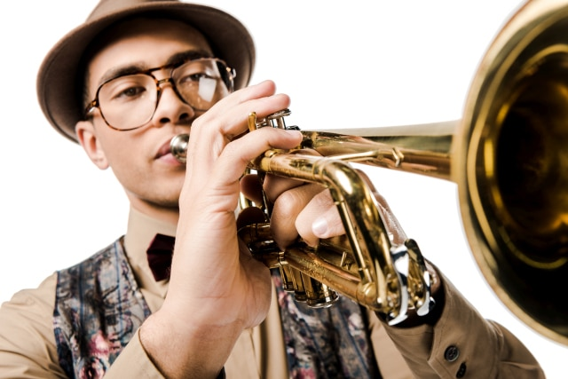 Trumpeter With Hat
